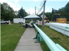 Miles Road Sanitary Sewer - Pipe Bursting fusing pipe at Cheswick