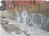 SOM Center Retaining Wall East Wall Repairs After Sound Test Failed