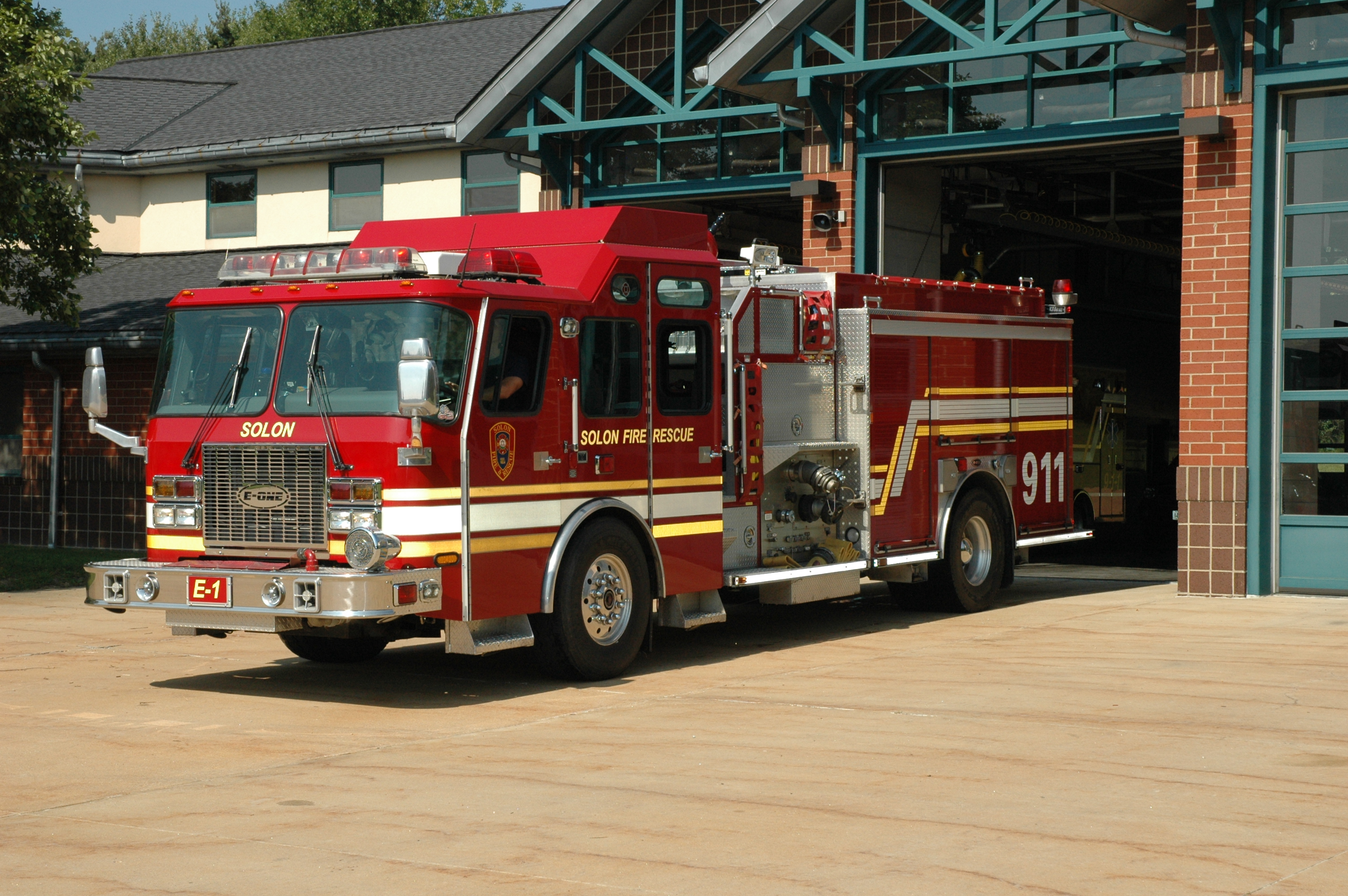 Engine 1 outside station