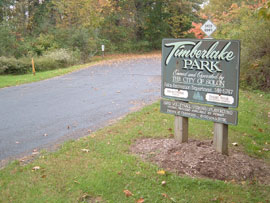 Timberlake Entrance Sign