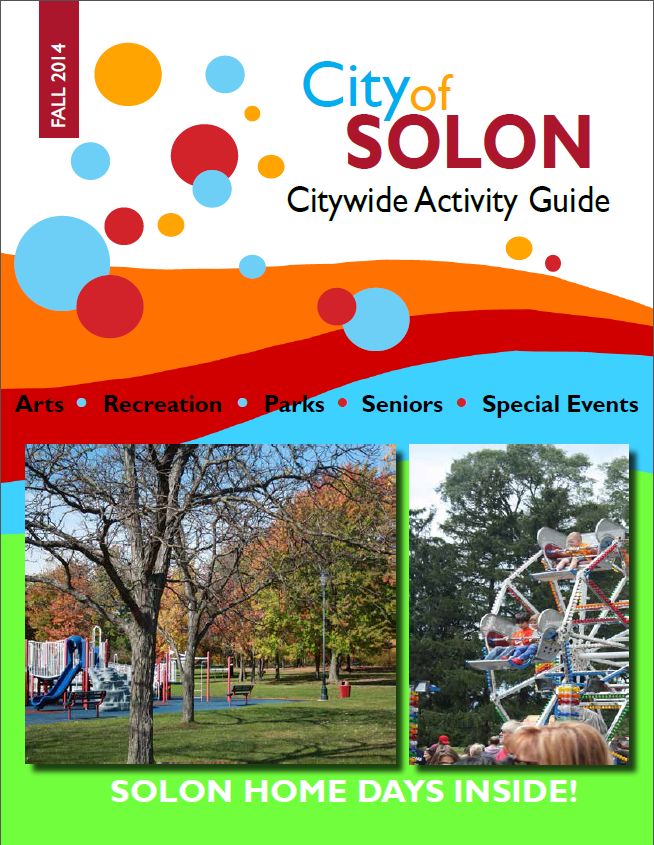 2014 Fall Citywide Activity Guide cover