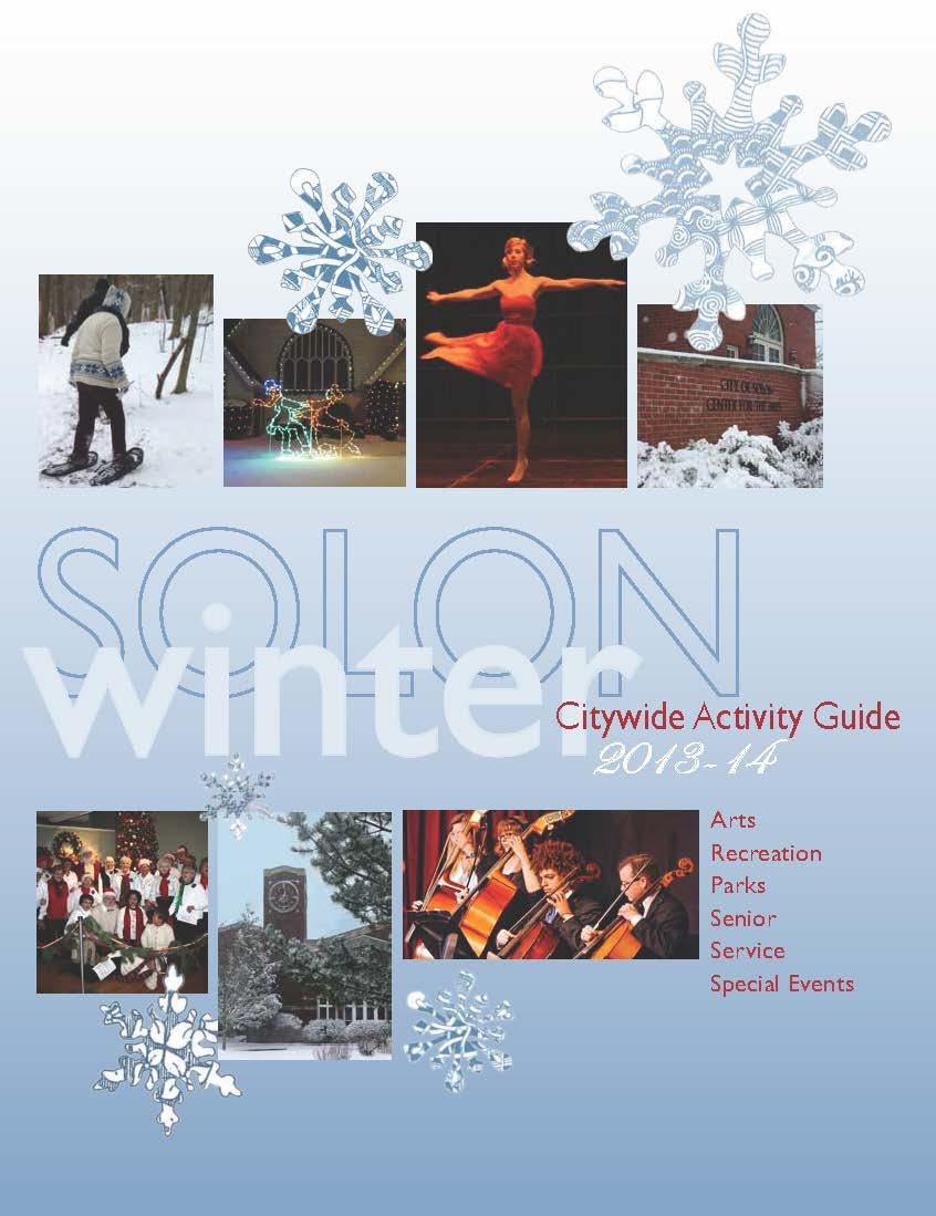 2014 Winter Citywide Activity Guide cover