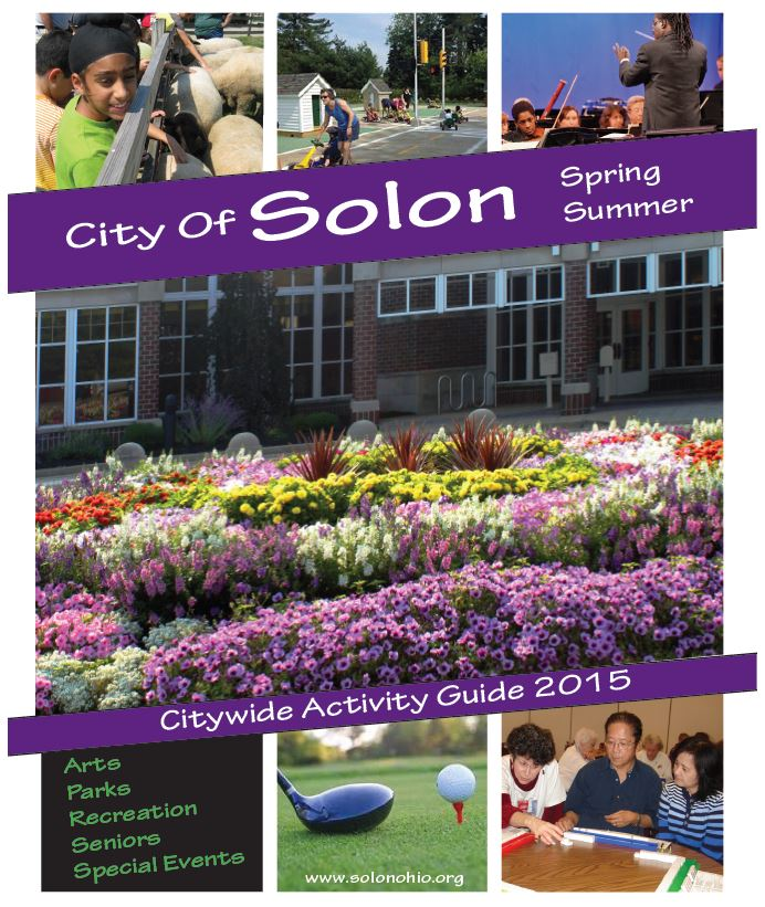 2015 Spring-Summer Citywide Activity Guide cover