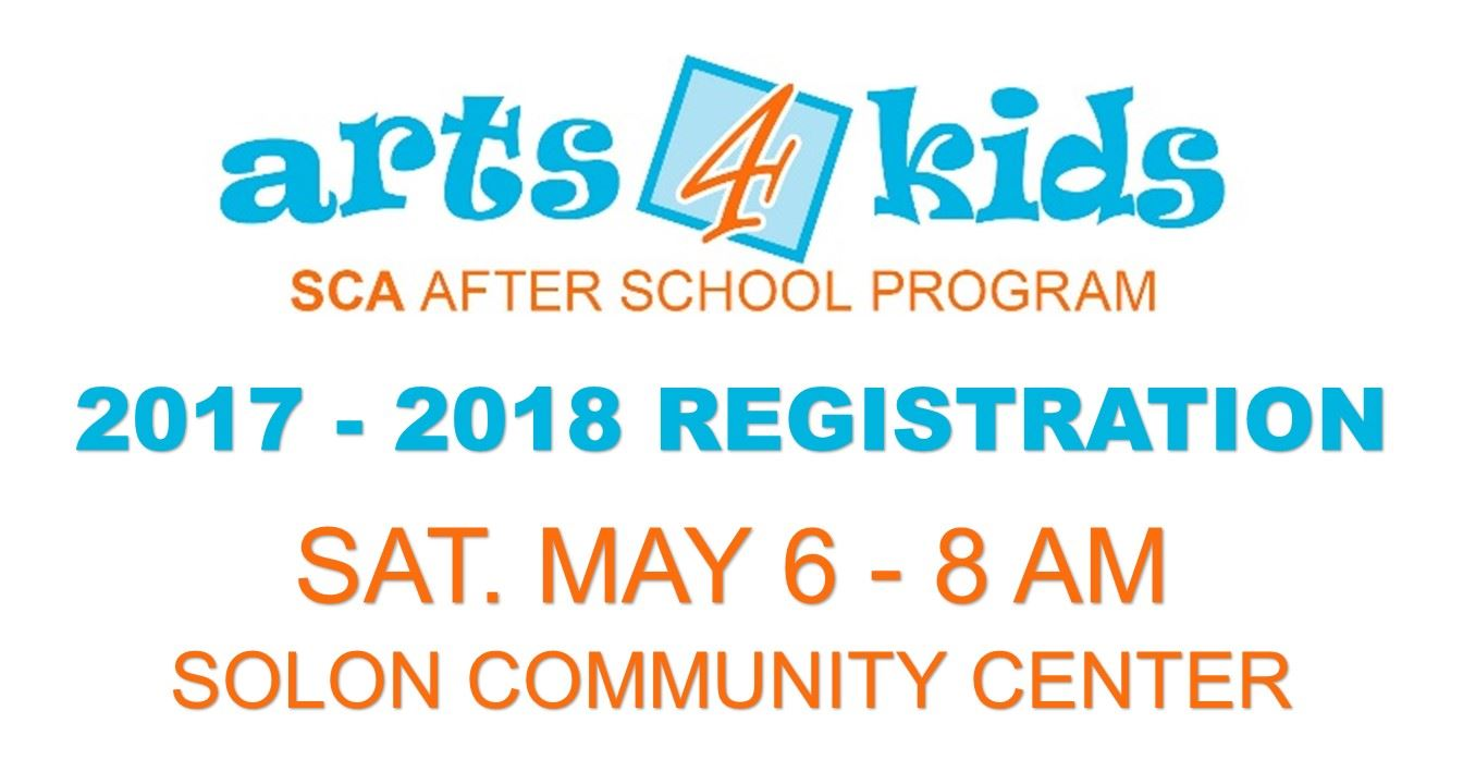 Arts4Kids Registration
