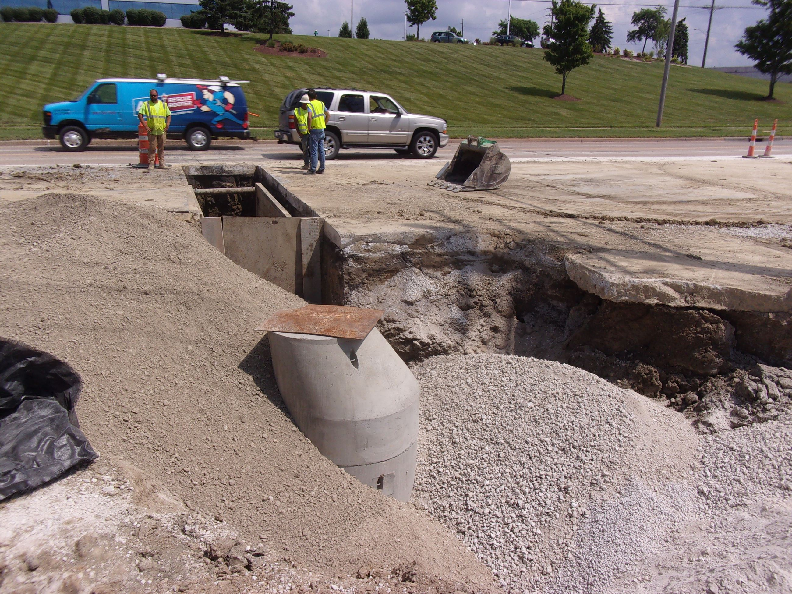 Cochran Phase II - Backfill and Manhole