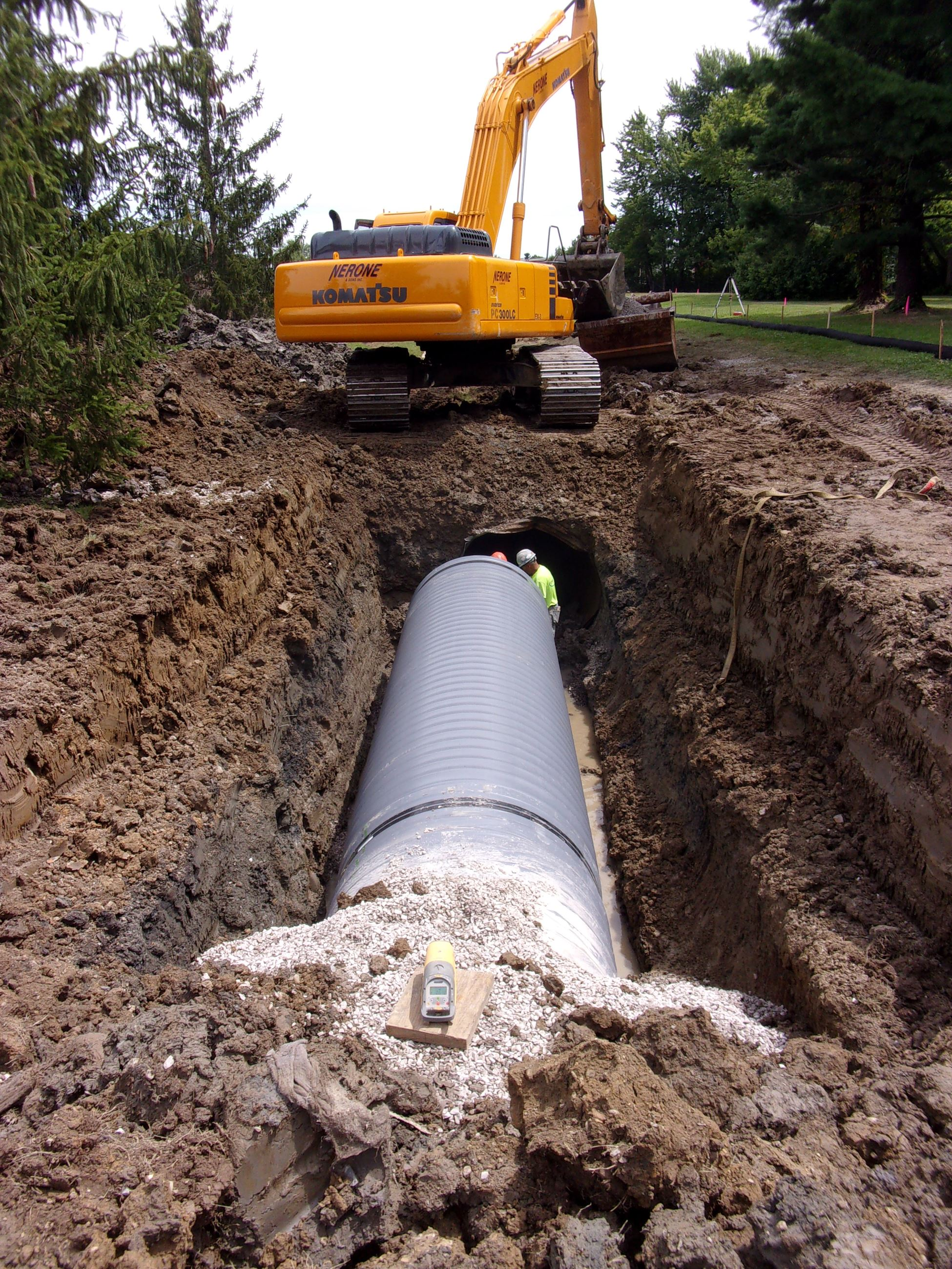 Roxbury Storm Sewer - 6th Pipe Install