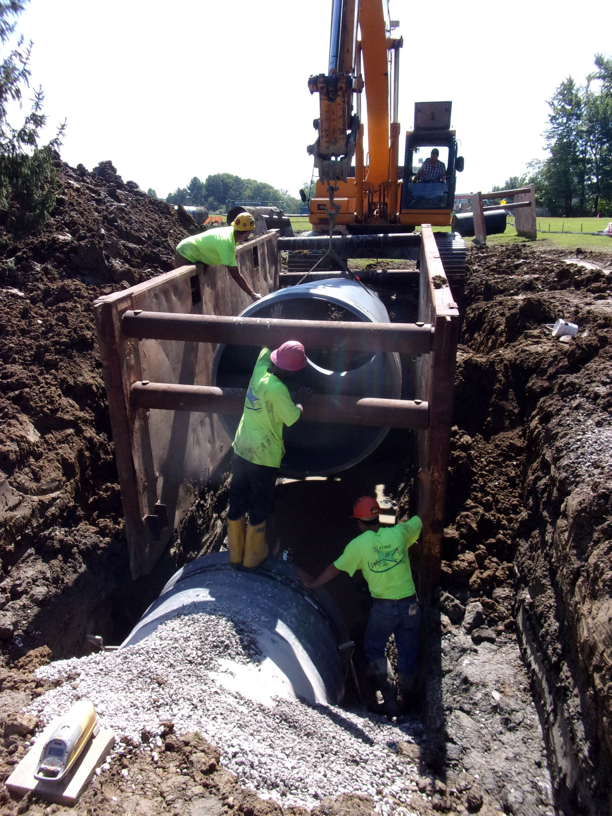Roxbury Storm Sewer - 9th Pipe Install