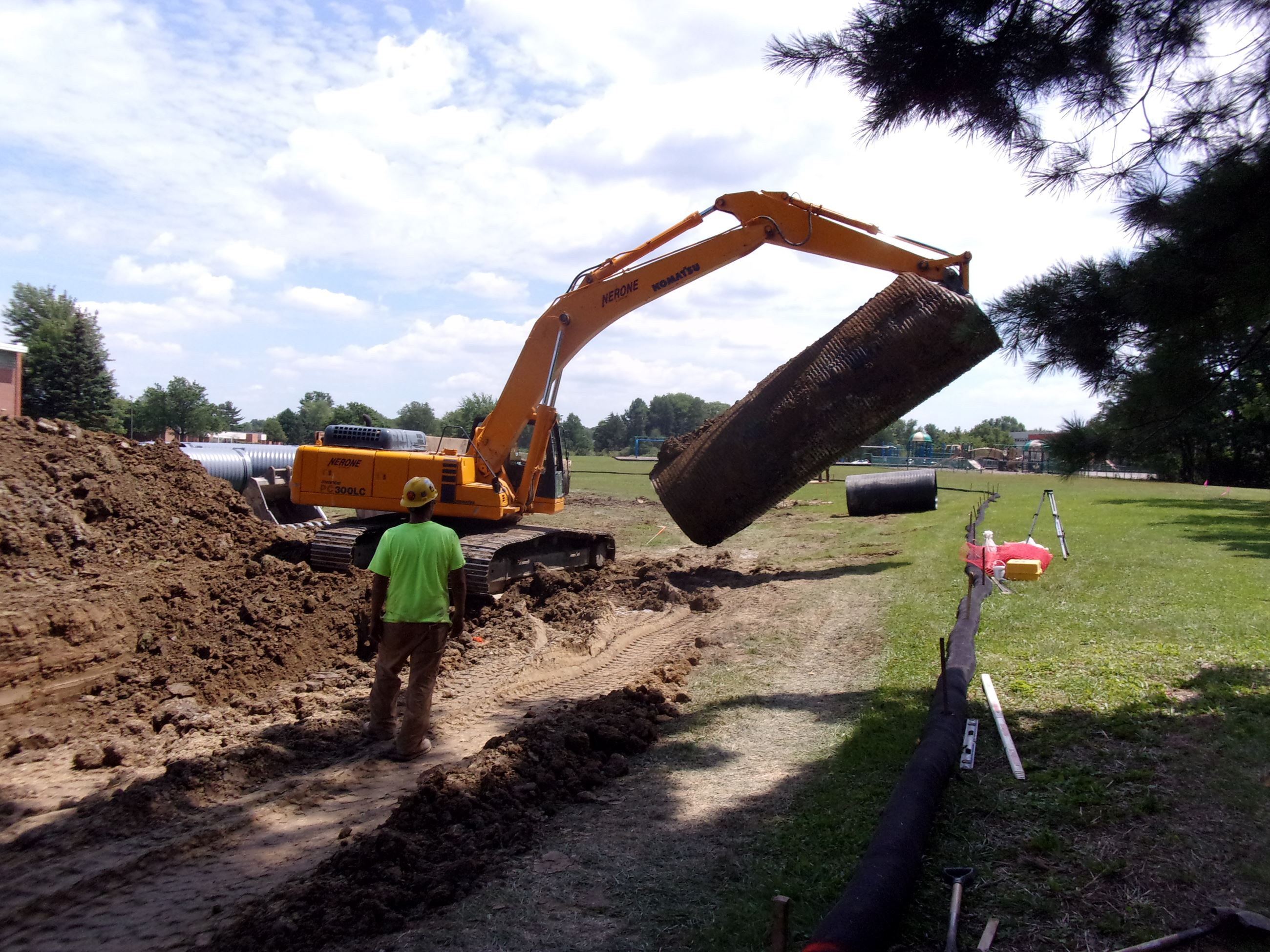 Roxbury Storm Sewer - Existing 72 in. Pipe Removal