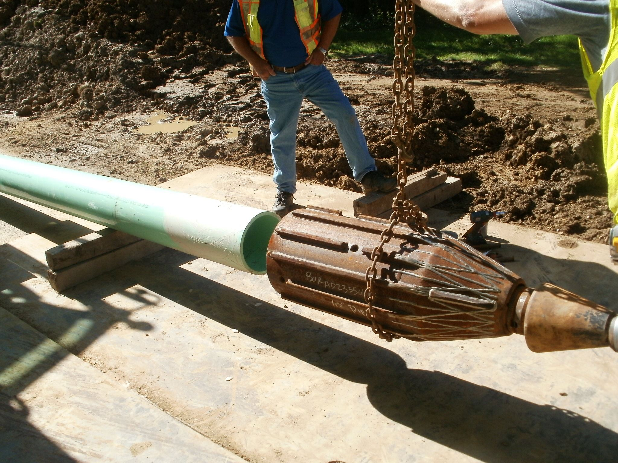Miles Road Sanitary Sewer - Pipe Bursting