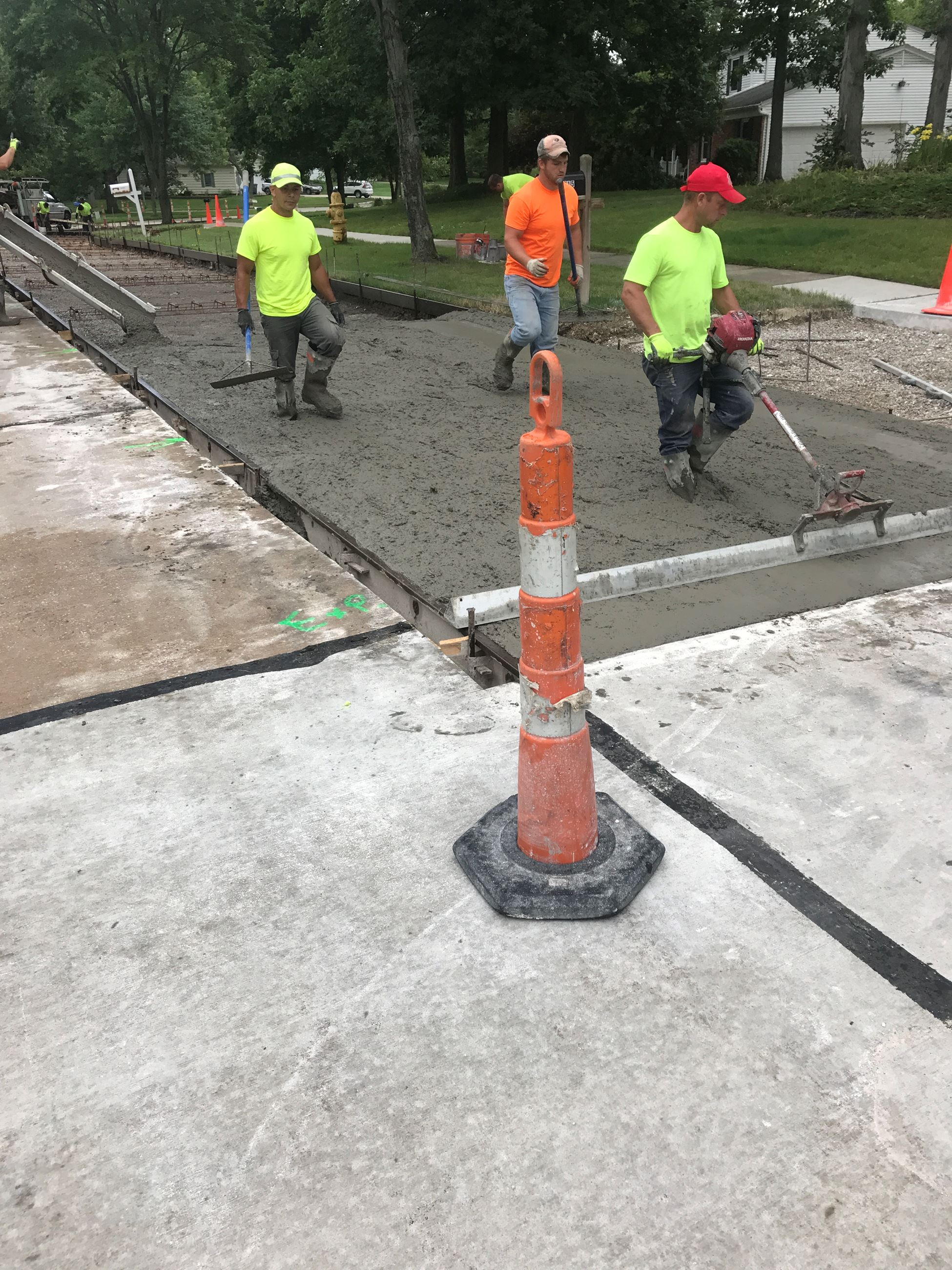 Annual Concrete Repair Program - Pavement Placement Fox Run