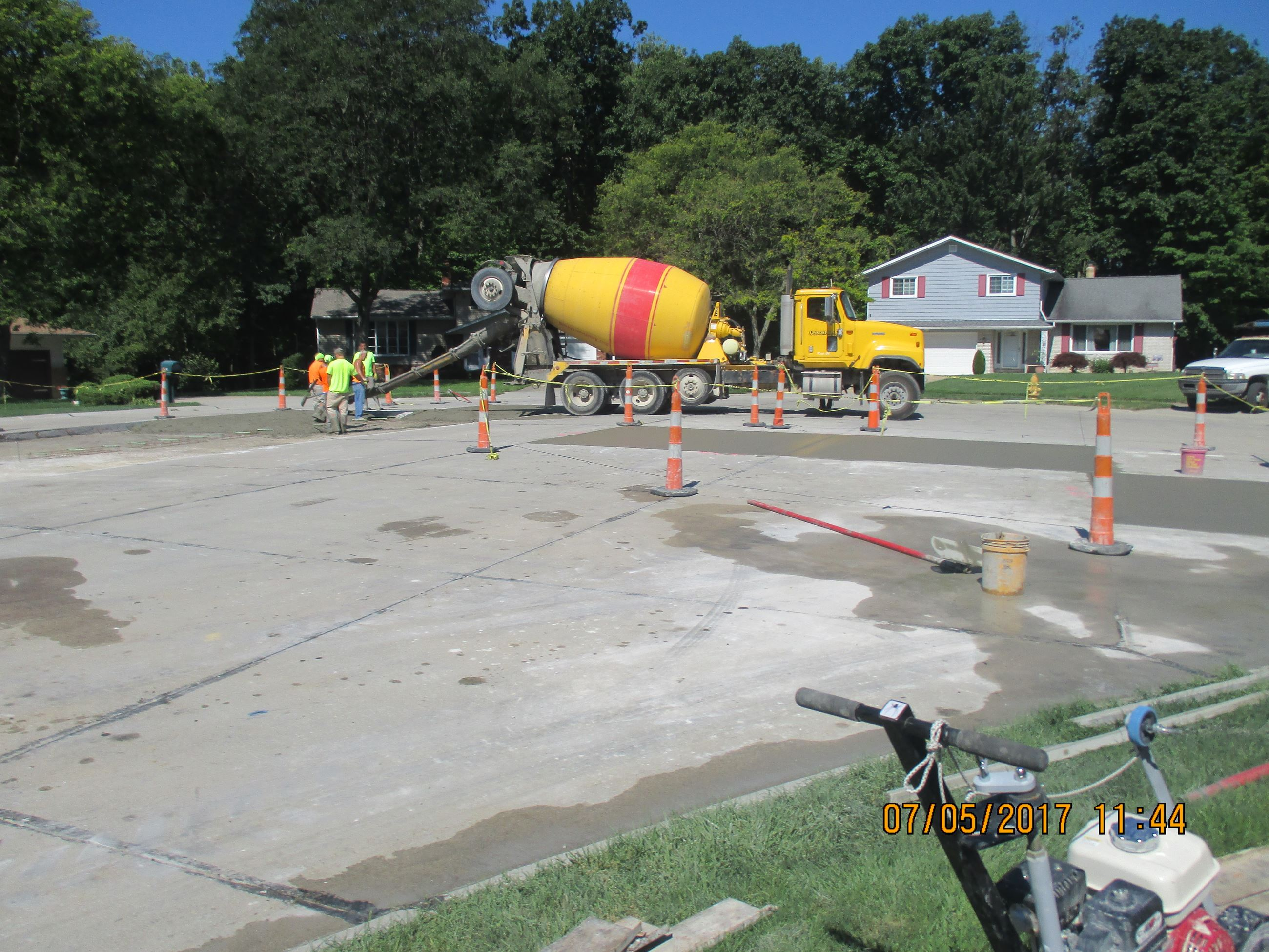 Annual Concrete Repair Program - Gemini Court