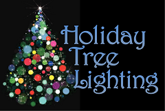 holiday tree lighting logoS