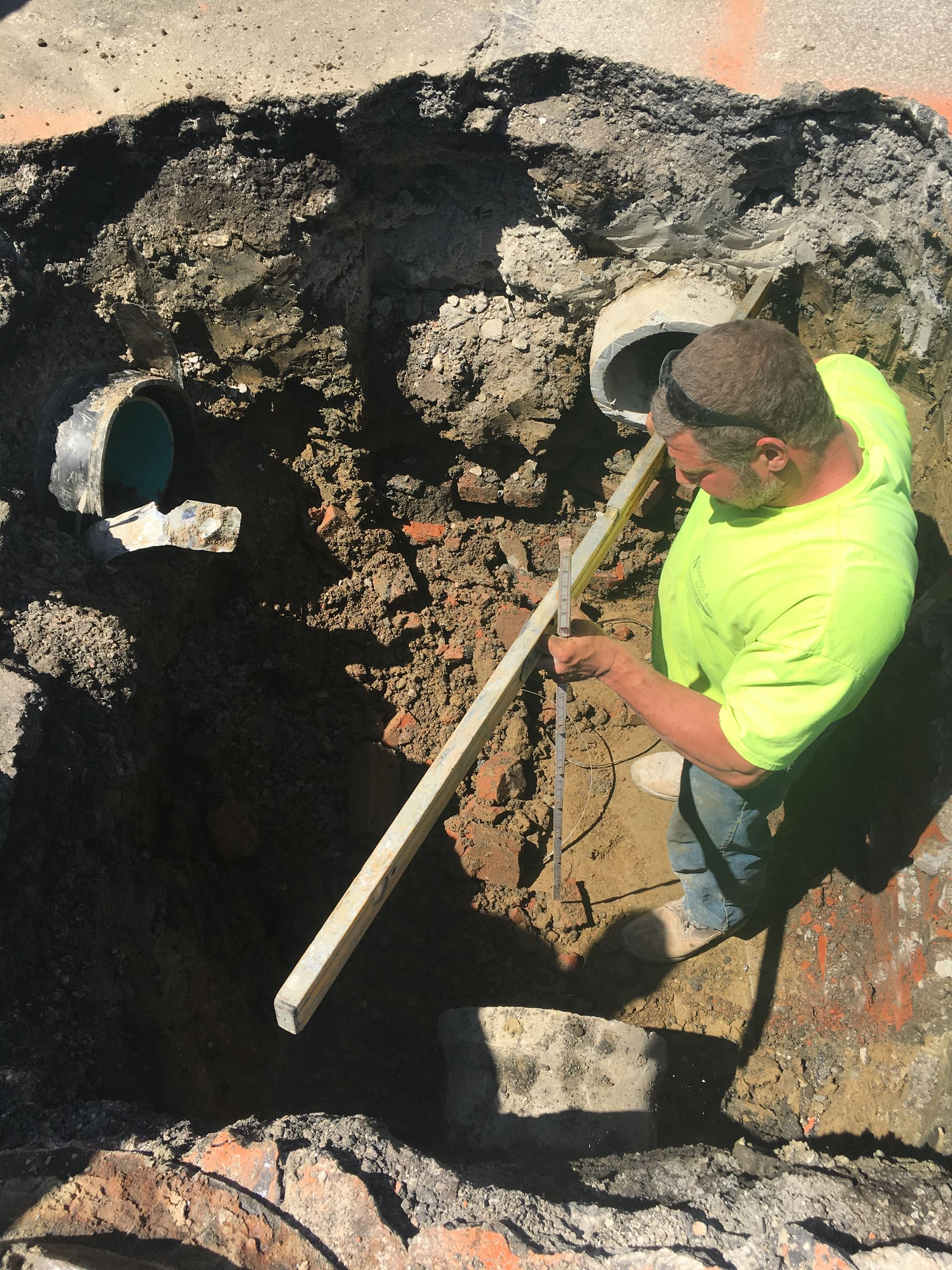 Catch Basin Repair on Miles Rd