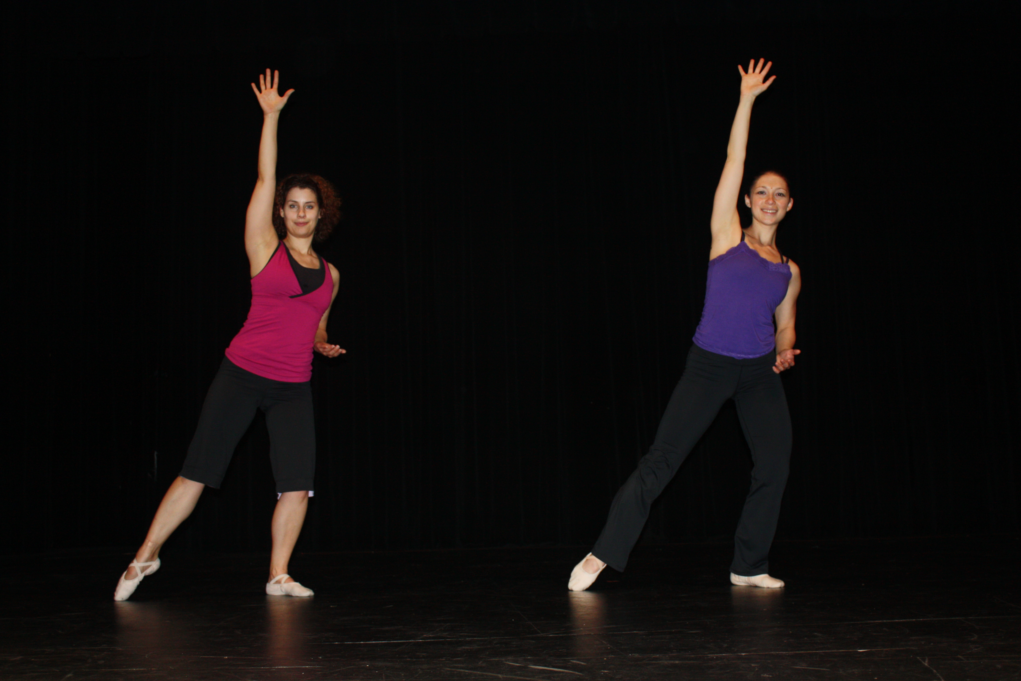 Adult Dance students rehearse for the annual recital.