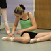 Getting ready for Pointe Class