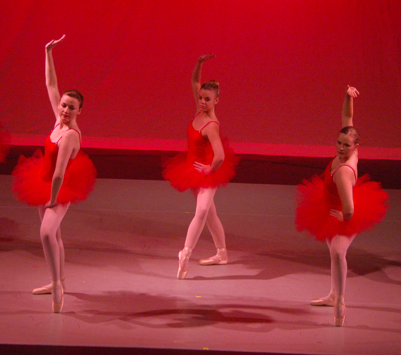 "Pointe students perform a dance to ""Lady in Red"" at the 2009 Annual Dance Recital"