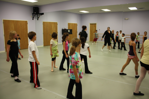 Jazz/Hip Hop Class with Ms. Kelly